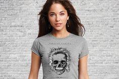 Einstein - Forever Famous - Gals T-shirt