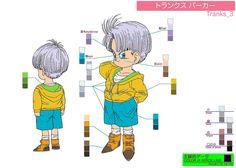 Dragon Ball Ossu! Kaette Kita Son Gokū to Nakama-tachi - Model Sheet 049   Flickr - Photo Sharing!
