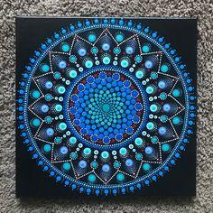 Ideas Bohemian Art Painting Mandalas Etsy For 2019 Mandalas Painting, Mandalas Drawing, Mandala Pattern, Mandala Design, Mandala Canvas, Design Tattoo, Dot Art Painting, Mandala Rocks, Bohemian Art