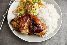 Kuře s limetkou, česnekem a citrónovou trávou