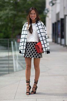 New York Fashion Week street style look New York Fashion Week Street Style, Spring Street Style, Street Style Looks, Looks Style, Street Chic, Nyfw Street, Image Fashion, Look Fashion, Fashion News