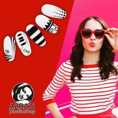 """abc nailstore präsentiert:  Azra's Fashion Day: Crazy in love! Nailart """"retro love"""""""