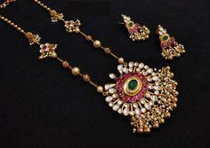 Gold Jewelry Simple, Stylish Jewelry, Fashion Jewelry, Gold Fashion, Fine Jewelry, Fashion Necklace, Jewelry Sets, Cheap Jewelry, Indian Fashion