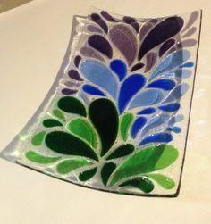 Fused Glass Ideas on Pinterest