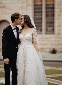 #wedding #australianwedding #melbournebride #sydneybride #bohobride #bride #ausbride #australianbride #rusticwedding #realbride #weddinginspiration #weddingphotographer #melbourne #sydney #elopement #covidwedding #weddinginspo #romanticbride #romanticwedding #blushwedding #bridesmaids #bridesmaidgowns #bridal #bridalgown #weddingdress #affordablebridal #australianbride #australianbridal #lacewedding #laceweddingdress Affordable Bridal, Wedding Wows, Bridal Gowns, Wedding Dresses, Illusion Neckline, Boho Bride, Romantic Weddings, Ball Gowns, Floral