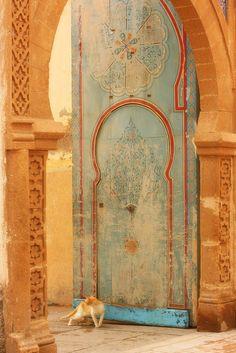 Doorway, Morocco
