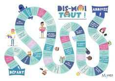 French Language Lessons, French Lessons, Board Game Design, Class Games, French Education, French Classroom, Teaching French, French Teaching Resources, Kids And Parenting