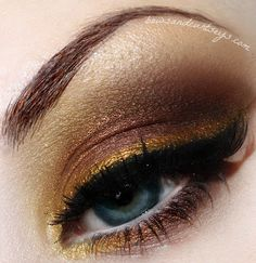 golds and browns