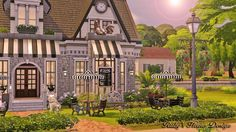 Sims 4 Updates: On the Sims4 Gallery, Origin ID is: RubyRed_1023 Ruby's Home Design - Houses and Lots : Granny's Kitchen lot by Ruby Red, Custom Content Download!