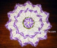 CROCHE COM RECEITA: Como aprender tapetes de croche ponto-a-ponto grat...