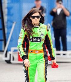 Danica Patrick...proof that anything men can do, women can doo...even better