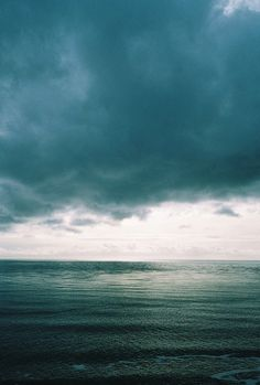 I love cloudy days at the beach as much as I like sunny days