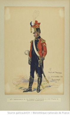 French; 9th Artillery Regiment, Drum Major 1810