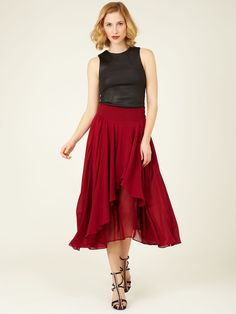 I really like the skirt, the top not so much...but the skirt yes!!