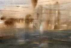 GRISAZUR: Acuarela sobre papel, 17x23 cm.Jun. 30, 2016