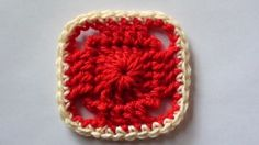 Crochet Blanket Square Video Tutorial and Pattern at http://youtu.be/5soBsWzJwF8