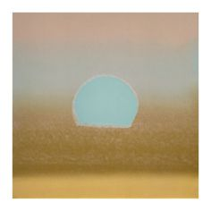 Sunset, c.1972 (gold, blue) Giclee Print by Andy Warhol at Art.com