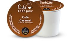 Café Caramel Specialty by Café Escapes® - Keurig.com