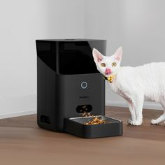 Automatic Wi-Fi Pet Feeder - Things I Desire Cool Gifts, Best Gifts, Automatic Feeder, Pet Camera, Cat Feeder, Best Cell Phone, Unusual Gifts, Cool Gadgets, Wi Fi