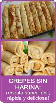 Sweet Recipes, Real Food Recipes, Dessert Recipes, Cooking Recipes, Bien Tasty, Healthy Desserts, Healthy Recipes, Crepes And Waffles, Brunch