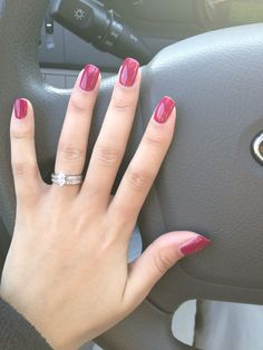 "Red Carpet Manicure - ""Plum up the Volume"""