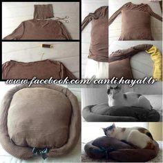 Pratik Kedi Yatağı Yapımı