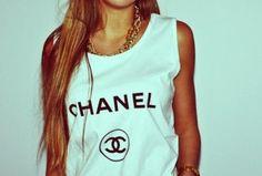 Coco Chanel singlet