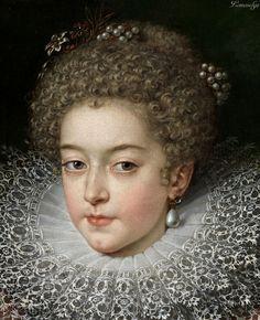 Frans Pourbus II (1569-1622)   Isabel de Francia, reina de España