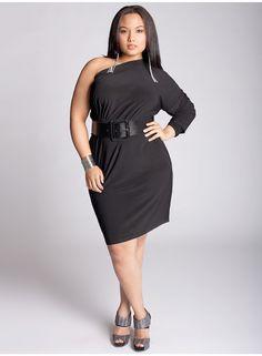 Kaori Infinity Plus Size Dress