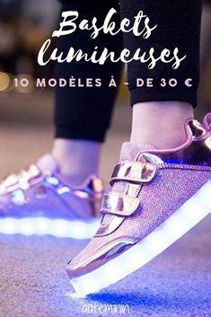 various colors 75059 288dd 10 paires de baskets lumineuses à moins de 30 euros