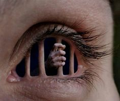 Free yourself from your inner frightened eyes ..tear down your cell walls..
