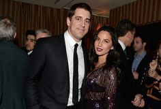 More hot photos of Aaron Rodgers and girlfriend Olivia Munn out together in 2015-slide0