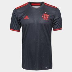 247c57564b A Camisa Adidas Flamengo Especial 2016 Chumbo e Vermelho veste o torcedor  flamenguista de honra e
