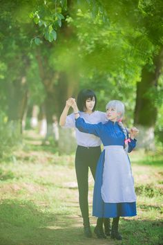 Sophie Hatter (Howl's Moving Castle) cosplay by yoiya (宵夜)
