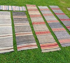 Picnic Blanket, Outdoor Blanket, Textiles, Traditional Interior, Recycled Fabric, Weaving Techniques, Woven Rug, Scandinavian Style, Diy Art