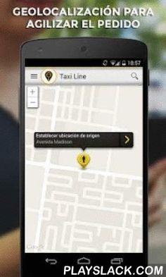 Taxi Line  Android App - playslack.com , ¡Con Taxi Line puedes pedir un taxi sencillamente desde tu Android!Pida el taxi más cerca de usted con solo 2 clicks.¿Cómo funciona Taxi Line? 1. Taxi Line localiza tu posición actual automáticamente. 2. Con sólo pulsar un botón, puedes pedir el taxi libre más cercano  3. Al final del viaje podrás evaluar al conductor y su servicio mediante estrellas.¿Por qué Taxi Line ?- GRATIS: la descarga de la aplicación es gratuita- TRANSPARENTE: facilitamos…