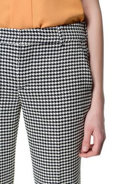 HOUNDSTOOTH TROUSERS - Trousers - Woman | ZARA United States