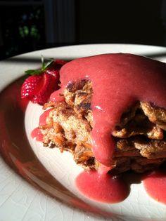 Carrot Cake Pancakes! Gluten Free, Vegan, Specific Carb Diet (SCD), Body Ecology Diet!  glutenfreehappytummy