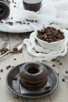 coffee + donuts - the best breakfast combination!