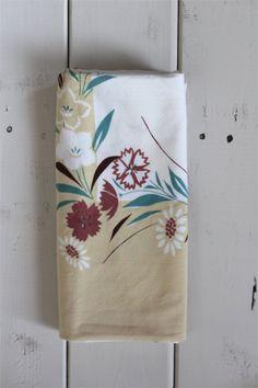 Vintage Boho Floral Tablecloth