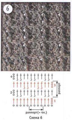 Schema di diversi punti all'uncinetto.  fonte:http://www.microsofttranslator.com/bv.aspx?from=&to=it&a=http%3A%2F%2Fwww.liveinternet.ru%2Fuse