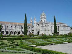Jeronimos garden, Lisbon