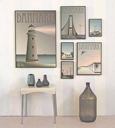 Plakat Danmark - fiskebådene - køb den her! – ViSSEVASSE