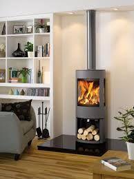 small modern wood stove - Google Search
