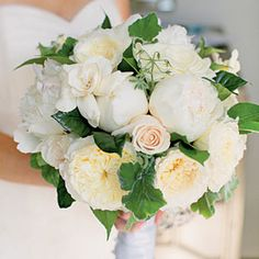 Fresh Bridal Bouquets | peonies, garden roses, and gardenias  - SouthernLiving.com