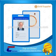 Check out this product on Alibaba.com APP RFID visiting card/ 0.76mm 30mil thickness facebook id card/ hologram student id card