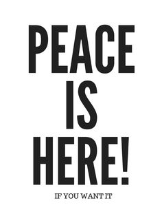 Typographie Poster Peace ist here About Me Blog, Company Logo, Peace, Logos, Poster, A Logo, Posters, Sobriety, Billboard