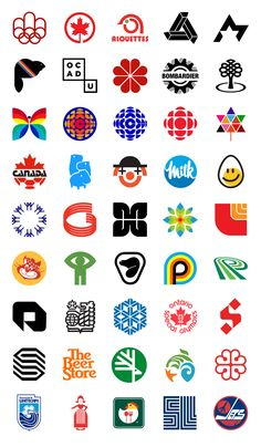 Interesting variety of logos and colors. Some of these look a lot like logos we see here in the US  Canadian logos / www.preserve.northernarmy.com/ Modern Logo Design, Graphic Design Branding, Identity Design, Typography Logo, Art Logo, Logo Branding, Badge Design, Icon Design, Logo Inspiration