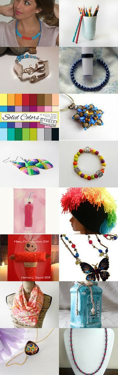 Handmade Fashion Forward  by Rosy B on Etsy--Pinned with TreasuryPin.com