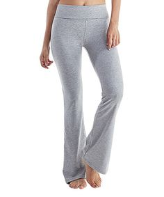 Another great find on #zulily! Heather Gray Yoga Pants #zulilyfinds